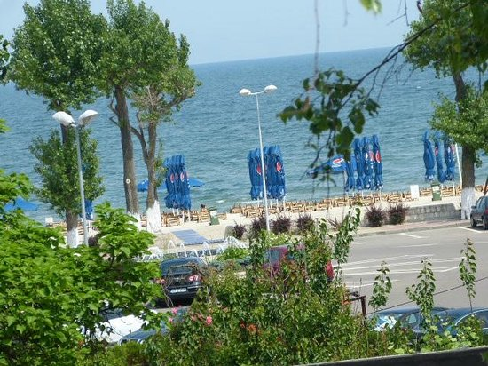 Hotel Siret: You can see beach from Balcony