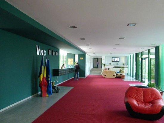Hotel Siret: Reception Area