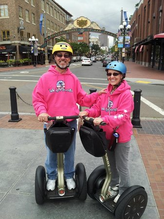 We Love Tourists: In the Gaslamp quarter
