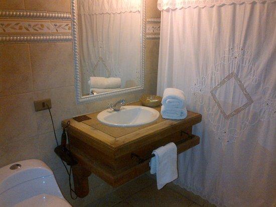 Hotel Casablanca,Spa & Wine : Baño Habitación
