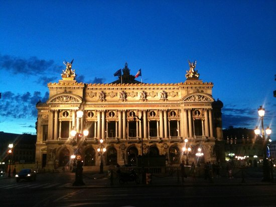 Hotel Gramont Opera Paris : et voici l'Opéra, à côté de l'hôtel