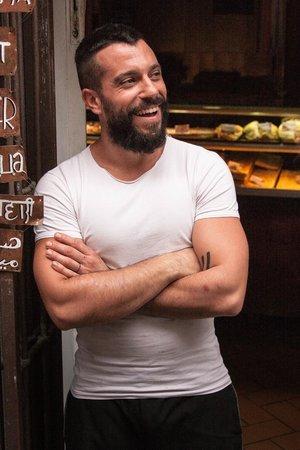 Pizzeria La Cambusa : La Cambusa's owner