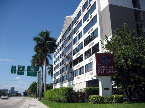 Fort Lauderdale Airport / Cruise Port Inn: Aussenansicht nördlich