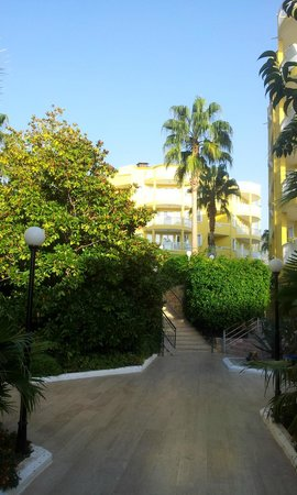 Club Paradiso Resort : Blick in die ABC Blocks