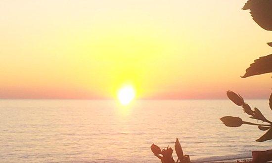 Club Paradiso Resort : Sonnenuntergang am Strand