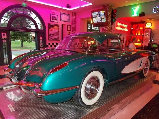 Corvette diner coupons