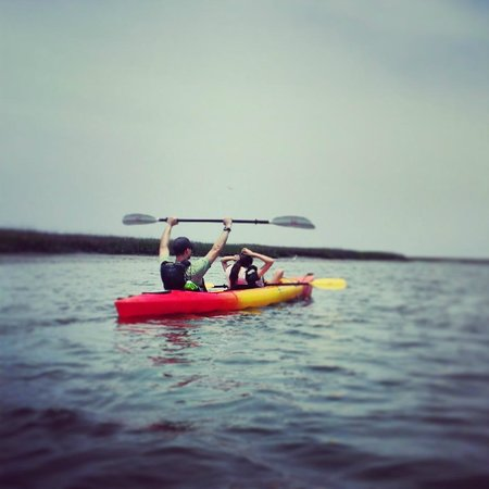 Kayak Amelia: Kayak fun