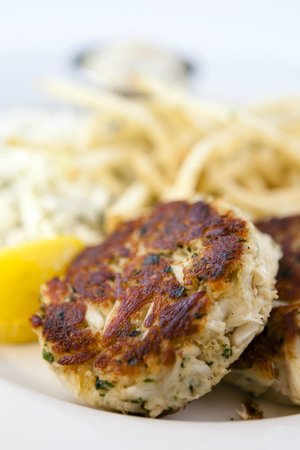 Cafe Deluxe: Crab Cakes