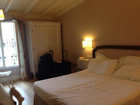 Hotel Rapallo: The room!
