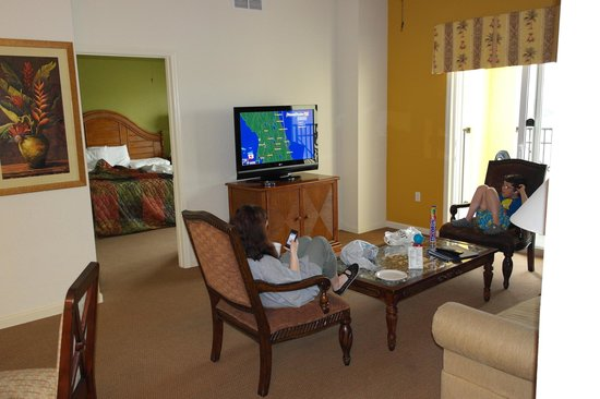 Lake Buena Vista Resort Village & Spa : Living room area