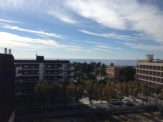 Regente Aragon : view from the top of the hotel