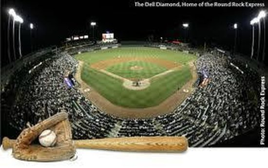 Round Rock Express : Dell Diamond Baseball Stadium