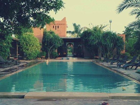 La Villa Kacy : la piscine