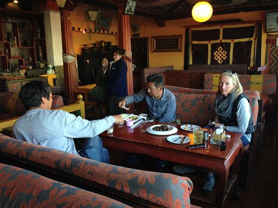 Shigatse Wordo Kitchen: Dining room