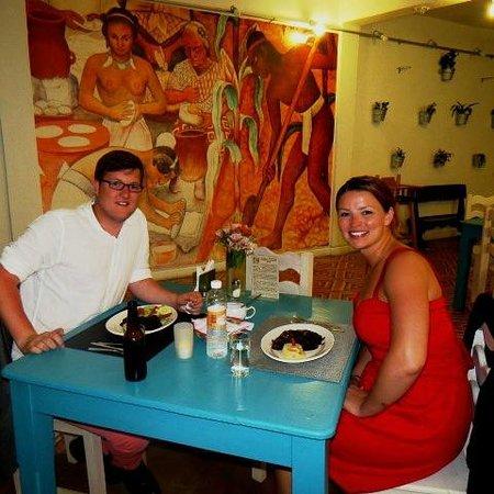 Restaurant Belil : Megan y Ed