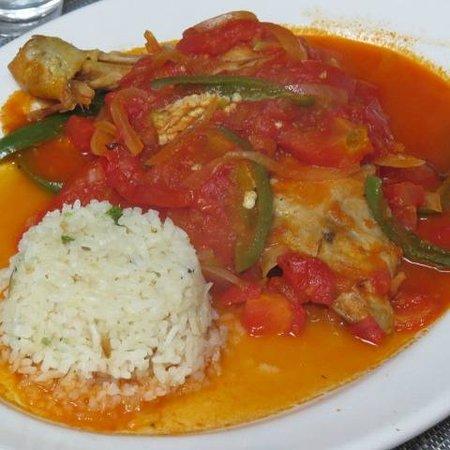 Restaurant Belil: Pollo entomatado