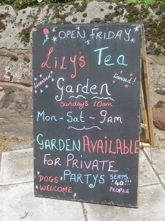 Premier Inn Shrewsbury Town Centre Hotel: Lily's Tea Garden