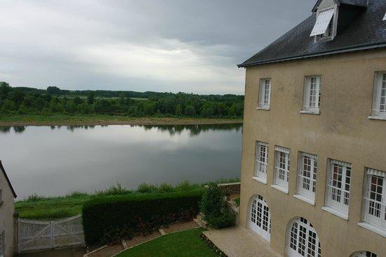 Manoir Bel Air vue on Loire river