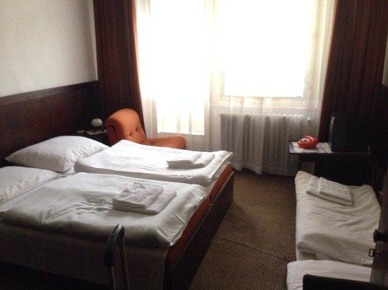 Hotel Detva: Room like from the 80'