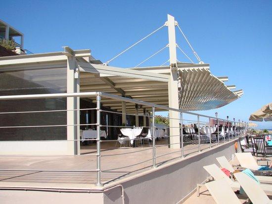 Michelangelo Resort and Spa: нижний ресторан