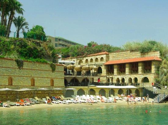 Aventura Park Hotel: Спуск к пляжу