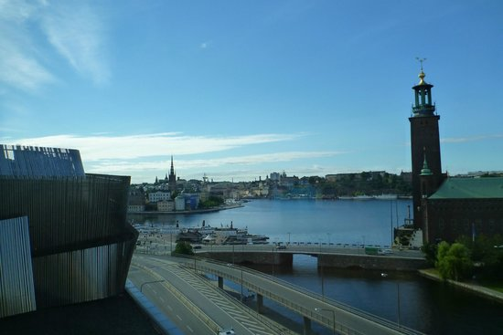 Radisson Blu Waterfront Hotel: Vista da janela do quarto.