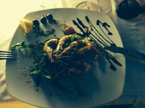 Panta Rei : Креветки были свежими и вкусными