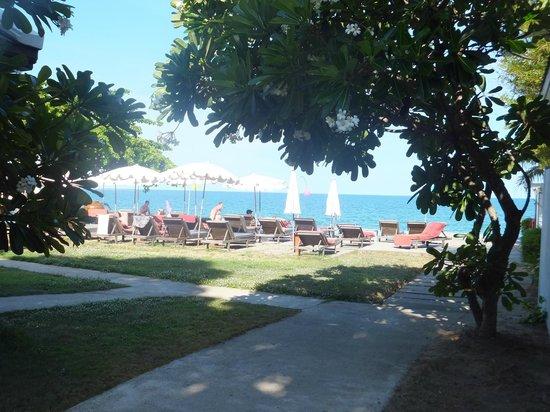 Lamai Wanta : Blick Richtung Pool/Strand