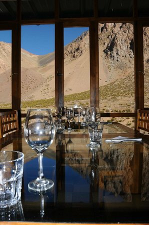 Ayelen Hotel de Montana: Lunch with a view
