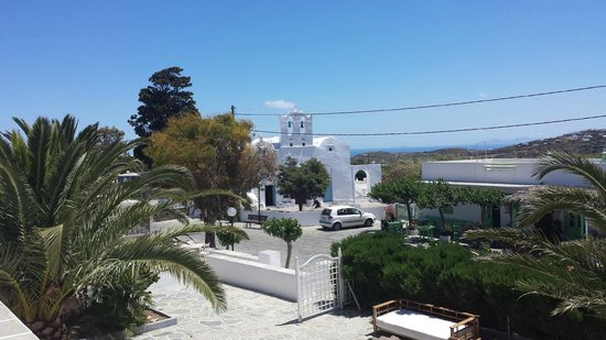 Smaragdi Hotel: Aussicht von unserem Zimmer