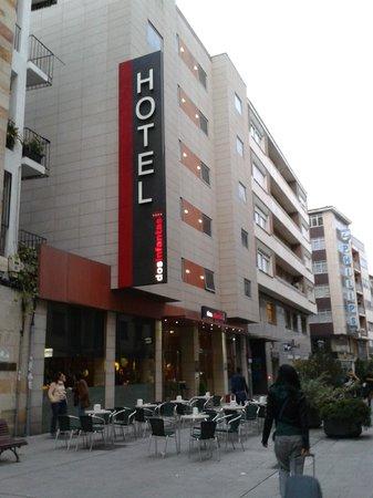 Zenit Dos Infantas: Arrivo all'Hotel