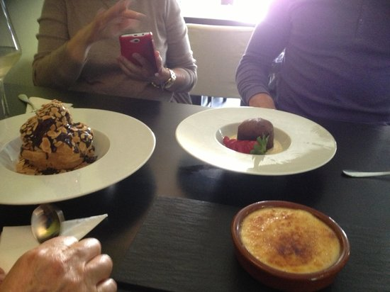 La Oliva: Desserts