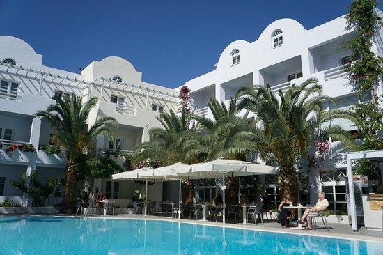Afroditi Venus Beach Hotel & Spa: бассейн маленький