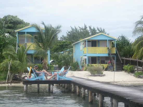 Colinda Cabanas: View of the property from the dock