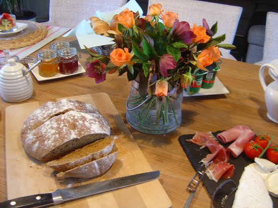 La Longere, Luxury b&b : Soda bread (home made)