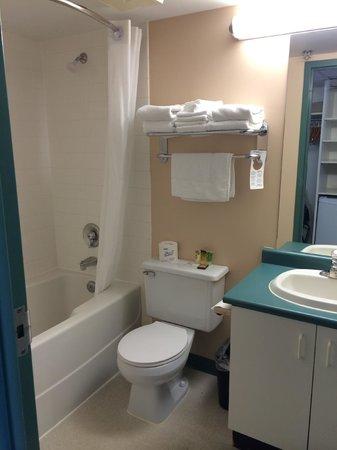 YWCA Hotel Vancouver: Bathroom