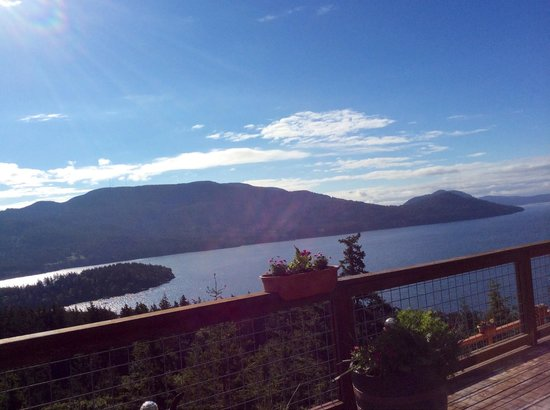 Double Mountain Bed and Breakfast: View from our deck :)