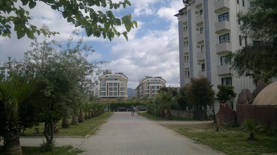 Hedef Resort & Spa Hotel: тоже вид на отель