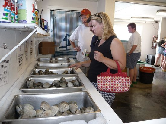 Champlin's Seafood: at the market downstairs