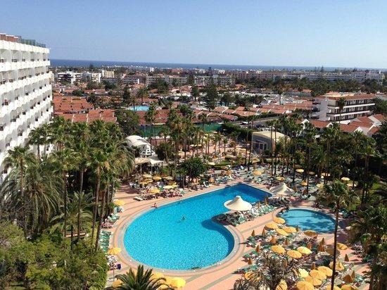 Hotel Eugenia Victoria: View from balcony