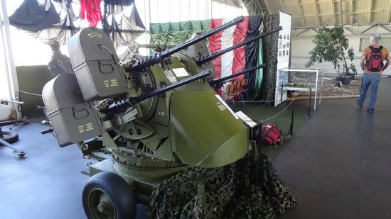 Aalborg Forsvars Og Garnisonsmuseum : 0.50 cal. anti air