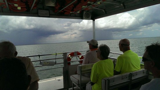 Calusa Queen Excursions: Sailing through shine or rain.