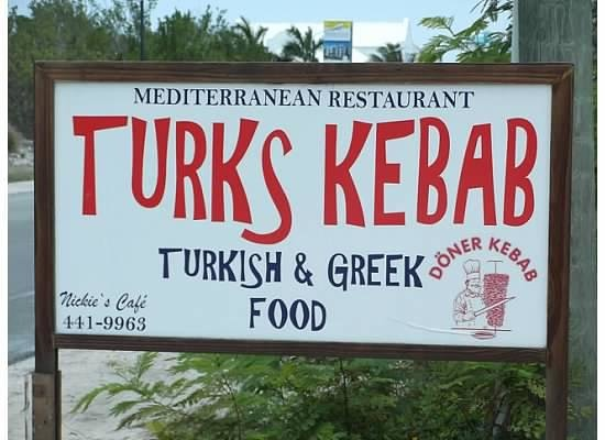 Turks Kebab: Sign
