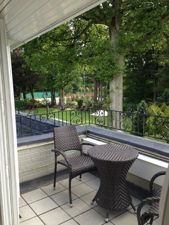 Wickwoods Country Club, Hotel & Spa: Bridal Suite balcony