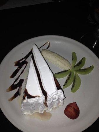 Carboncitos: Tres Leches cake.