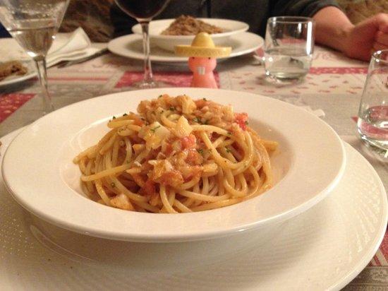 Ristorante La Cantina: Pasta Before