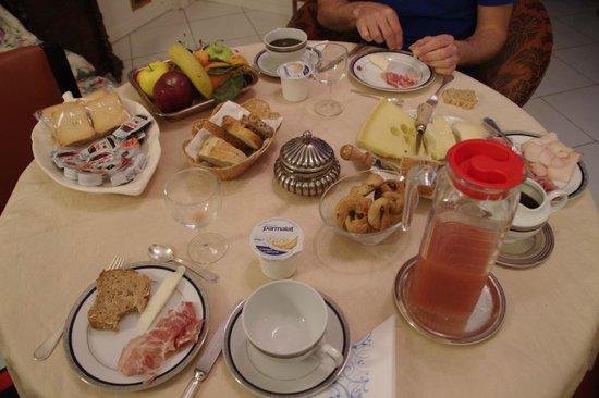 Casa 12 B&B: Un festin pour petit déjeuner