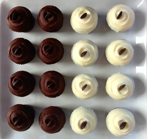Dulce Bakery & Coffee: Our hand-frosted cupcakes