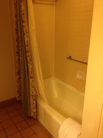 Best Western Plus Victorian Inn : Shower/Tub