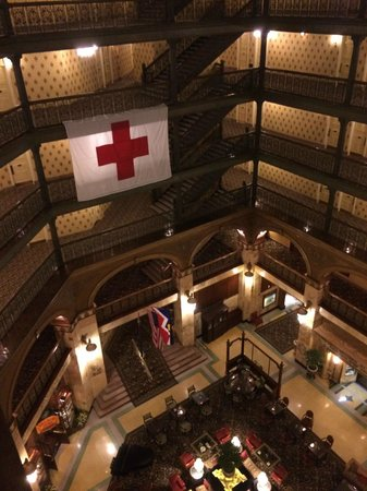 The Brown Palace Hotel and Spa, Autograph Collection: Hotel is celebrating 100 years of supporting the Red Cross